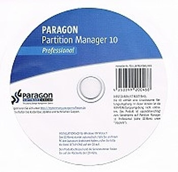 PARAGON Partition Manager 10 Professional