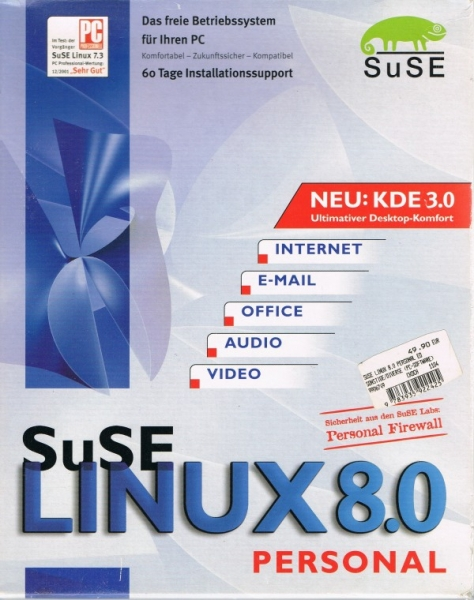 SuSE Linux 8.0 - Personal