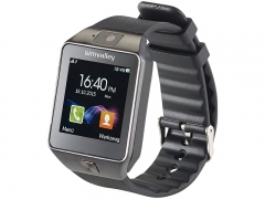 simvalley Mobile  1,5-Handy-Uhr & Smartwatch
