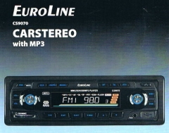 Autoradio mit MP3 Audio-System